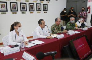 Instalan centro de mando en Cancún ante acercamiento de huracán Delta