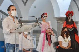 Festividades del Día de Muertos cumplirán medidas sanitarias: Alcalde del Puerto de Veracruz