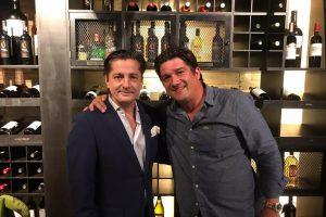 Alejandro Basteri presenta en Veracruz el vino 'Único' de Luis Miguel