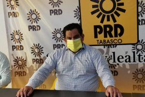 Este viernes instalará PRD Tabasco comisión de candidaturas para próximas elecciones: Francisco Cabrera