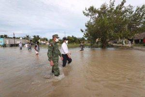 El gobernador Mauricio Vila Dosal recorre la zona costera del oriente del estado de Yucatán