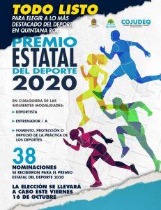 Todo listo para elegir a lo más destacado del deporte en Quintana Roo