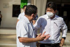 Reconoce Victor Más Tah loable labor de profesionales de la salud