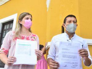 Regidores denuncian que a dos meses de terminar el año, el alcalde de Campeche, presentó su programa de obras para el 2020