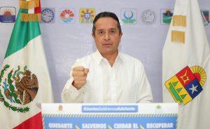 Quintana Roo y Cancún están bajo control y siguen su curso firme de reactivación económica y de cuidado de la salud: Carlos Joaquín
