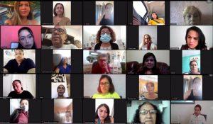 Participa Anahí González en la jornada nacional de 16 días de activismo a favor de las mujeres de Morena en Quintana Roo