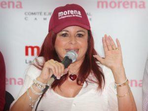 Layda Sansores, acepta que va por la gubernatura de Campeche