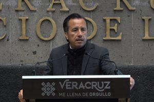 Estaré aquí los 6 años por los que el pueblo me eligió como Gobernador de Veracruz: Cuitlahuac García