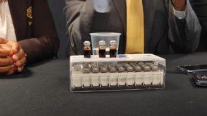 Presentan en Xalapa vacuna contra el COVID-19