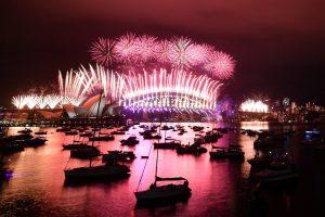 Así recibió Australia el Año Nuevo 2021