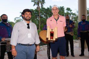 Se alista el mexicano Carlos Ortiz para participar en el Mayakoba Golf Classic