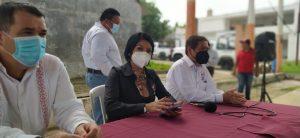 Fortalece la diputada Olvita Palomeque al Sindicato 28 de Enero en Pichucalco, Chiapas