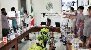 Instala INE sus cinco Consejos Distritales en Yucatán