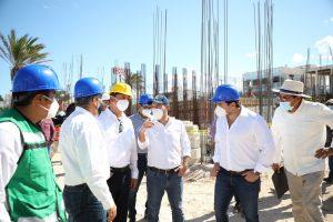 Supervisa el gobernador Mauricio Vila obras del Programa de Mejoramiento Urbano 2020 en Progreso