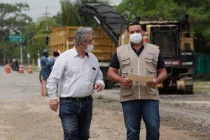 Labores ininterrumpidas de bacheo para mantener la infraestructura vial y mejorar la movilidad en Mérida