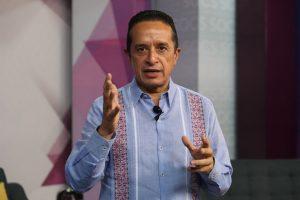 En todo el estado de Quintana Roo, el semáforo epidemiológico estatal estará en color amarillo, del 28 de diciembre al 3 de enero: Carlos Joaquín