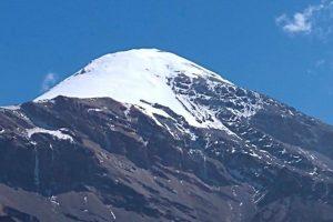 Podría haber caída de aguanieve o nieve en el Pico de Orizaba y Cofre de Perote