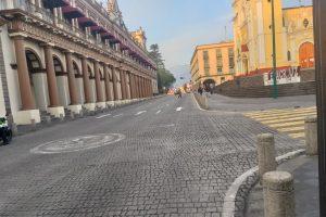 Xalapa, Veracruz, luce vacía en el segundo día de cierres por COVID-19