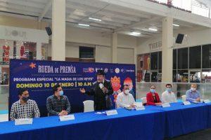 Anuncian programa especial 'La magia de los Reyes', con el 'Mago Chong Tall', se transmitirá por televisión en Tabasco