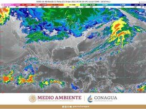 Se prevé caída de nieve o aguanieve en cimas montañosas del centro y oriente de México