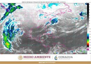 Durante la noche continuarán las lluvias muy fuertes en el norte de Oaxaca, el norte y oriente de Puebla y el centro de Veracruz