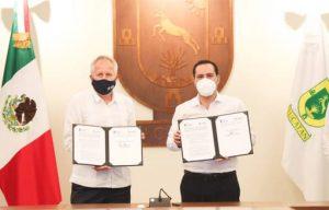 El gobernador Mauricio Vila, firma convenio de cooperación con la Fundación Konrad Adenauer