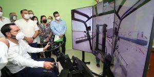 Inaugura el gobernador, Mauricio Vila los Laboratorios Académico de Innovación, Diseño y Manufactura y de Logística 4.0 en la UTM