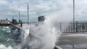 Hasta de 90 km/h las rachas máximas por norte en costas de Veracruz