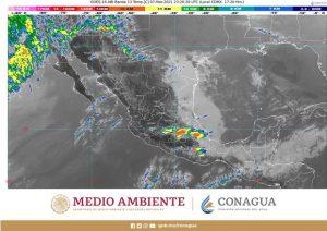Se prevén durante la noche, lluvias y nieblas en el noreste, oriente y sureste de México
