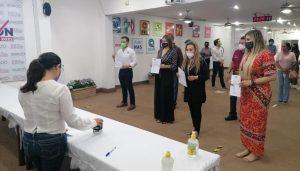 A la medianoche, inscribe coalición 'Juntos Haremos Historia' a sus candidatos en Quintana Roo