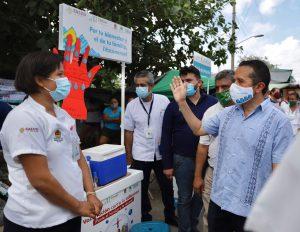Seis municipios disminuyen contagios de coronavirus y en cinco hay aumento: Carlos Joaquín