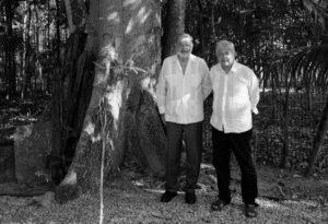 AMLO invita a Slim a 'La Chingada' en Palenque; evalúan avances del Tren Maya
