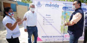 Invierten cerca de 10 mdp para construcción y rehabilitación de parques en Mérida