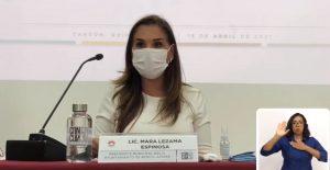 Aprueba cabildo de Benito Juárez, licencia a Mara Lezama por 60 días