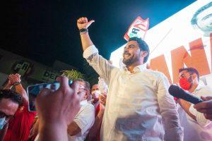Christian Castro Bello se alzó como ganador del debate entre candidatos al gobierno de Campeche