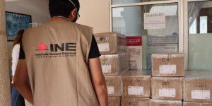 Recibe INE Yucatán listados nominales con fotografía a utilizarse el 6 de junio