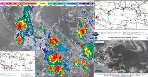 Pronostican nublados y lluvias ocasionales para Quintana Roo