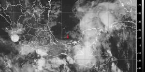 """¡Se salva la Península! Tormenta tropical """"Claudette""""con rumbo a EU"""