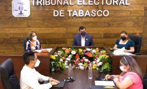 Ratifica Tribunal Electoral de Tabasco, triunfo de diputados locales y distribución de plurinominales