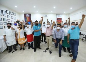 Legitiman contrato colectivo de trabajo en el hotel Dorado Royale