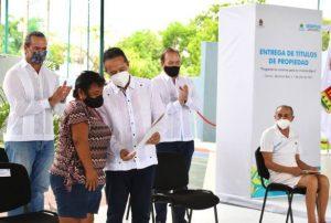 En Quintana Roo se han entregado 6 mil 100 Titulos de Propiedad hasta el primer trimestre del 2021