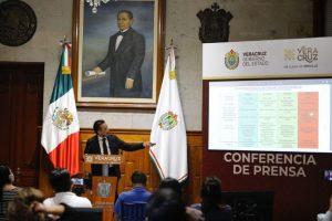 Detalla gobernador de Veracruz, fechas de vacunación para personas de 30 a 39 años y de 40 a 49 años