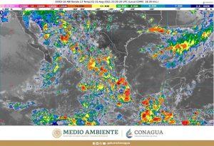 Durante esta noche se pronostican lluvias intensas en zonas de Chiapas, Sinaloa y Sonora