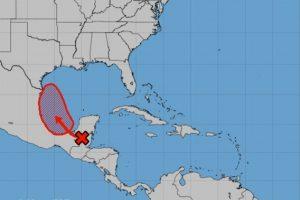 Depresión tropical impactaría como ciclón a Veracruz y Tamaulipas: Servicio Meteorológico
