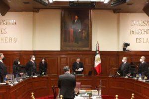 SCJN exhorta al Congreso a legislar objeción de conciencia