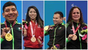 Con un total de 22 medallas termina México su participación en Paralímpicos de Tokio