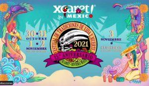 Anuncian el Festival de Vida y Muerte de Xcaret con actividades presenciales y virtuales