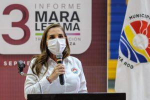 Seguiremos trabajando en la transformación social de Benito Juárez: Mara