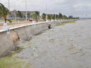 Advierten de posible ciclón que se formarían en el Golfo de México, Campeche llama a la población a estar alertas