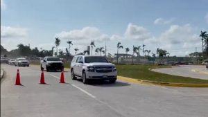 Trabajadores de Dos Bocas en Paraíso, Tabasco, a gritos expresan inconformidades a Rocío Nahle